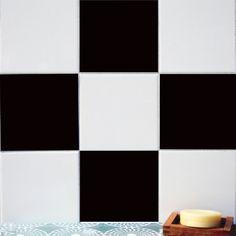 Tile Decals Tiles For Kitchen/Bathroom Back Splash By QUADROSTYLE |  Flooring | Pinterest | Tile Decals, Vinyl Tiles And Kitchens