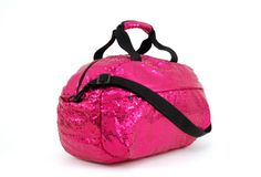 Sparkle On - Sequin Dance and Overnight Bag! How fun and pink!