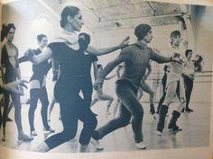 Nuryev setting Raymonda for ABT's Cynthia Gregory and Ivan Nagy. Photos by Martha Swope, July 1975