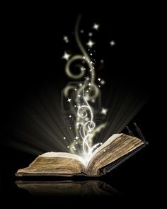 The words jump right off the page. It's magic.