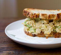Vegan Tuna Sandwich. *Fish-Free* Lunch. - Healthy. Happy. Life.