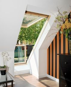 This Roof Window Can Transform Into A Small Balcony | Architecture & Design