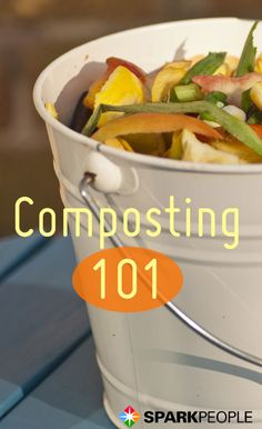 Try this beginner's guide to composting - if you're new to gardening, composting is a great way to improve the fertility of your garden, for free!