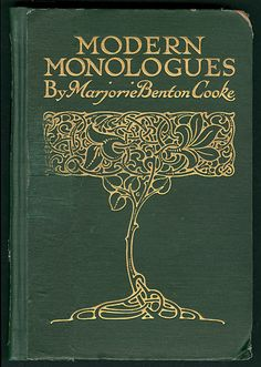 UW-Madison Libraries Modern monologues Unknown 1903