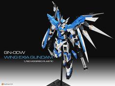 GN-00W Wing Exia Gundam custom by Tigrillo via GxG GunPla Gallery - Gundam Kits Collection News and Reviews