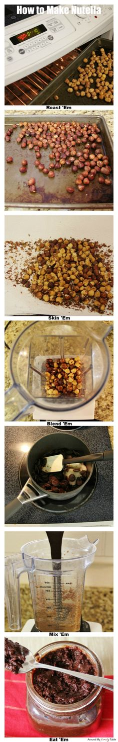 How to Make Nutella (It's all natural, dairy free, gluten free, vegan, and processed sugar free).