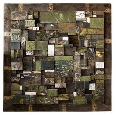 Large Wood Assemblage by Mike Sanzone
