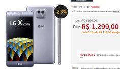 """Smartphone LG X Cam Titânio com Duas Câmeras Traseiras 16GB Tela de 5.2"""" Android 6.0 4G Octa Core de 1.1 GHz e 2GB de RAM << R$ 116910 >>"""