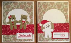 Stampin Up Cookie Cutter Christmas and Jolly Friends.