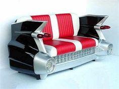 Sofa for car lover