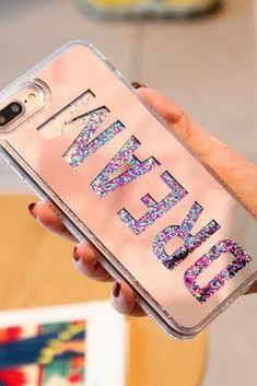 Design: Quotes & Messages,Patterned,FloralFeatures: Liquid Quicksand Phone CaseS… – Technology World Girl Phone Cases, Cool Iphone Cases, Diy Phone Case, Best Iphone, Cute Phone Cases, Iphone Phone Cases, Phone Covers, Iphone 4, Iphone 8 Plus