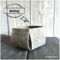 EASY DIY Anleitung für Körbchen