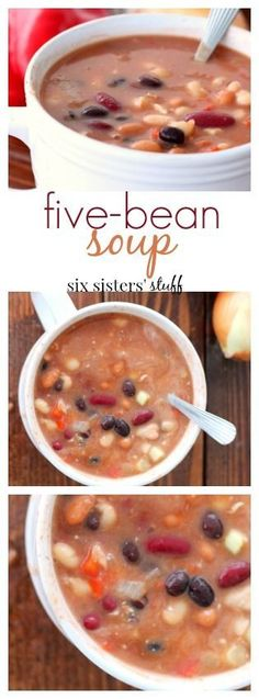 Five-Bean Soup recip