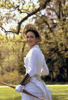 Winona Ryder as May Welland in The Age of Innocence (1993).