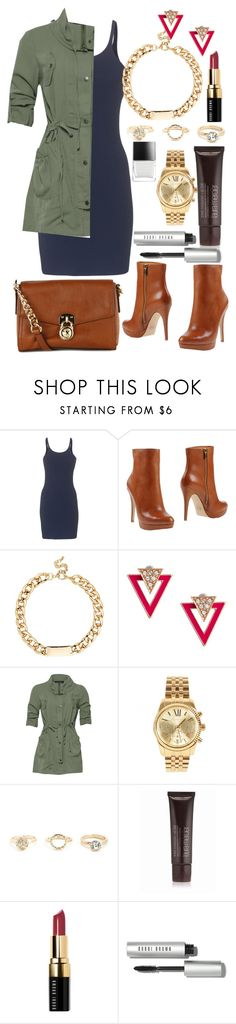 """Today....."" by fee4fashion ❤ liked on Polyvore featuring T By Alexander Wang, MICHAEL Michael Kors, Red Herring, ASOS, MINKPINK, Michael Kors, Charlotte Russe, Butter London, Laura Mercier and Bobbi Brown Cosmetics"