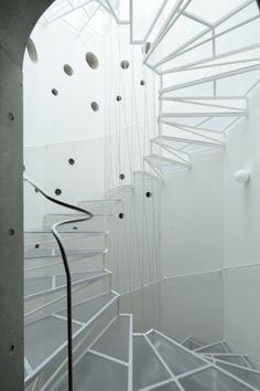 Brilliant Modern Staircase Designs et pourtant , confusion .. trop schematic ?…