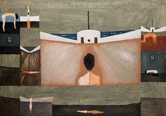 "Jerzy Nowosielski ""Kidnapping of Europe"" 1976"