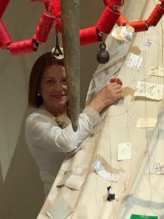 Raffaella Losapio, Stitch in Time by David Medalla - Arsenale, 57. La Biennale di Venezia, 2017