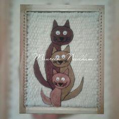 Gatos en vellón