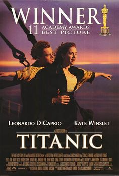 """""""TITANIC""""--MY FAVORITE MOVIE OF ALL TIME!"""