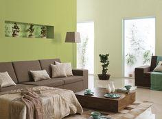 29 Ideen F\u00fcrs Wohnzimmer Streichen \u2013 Tipps Und Beispiele