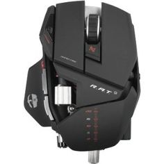 Cyborg R.A.T. 9 Mouse. CYBORG R.A.T. 9 WRLS MOUSE MICE. Laser - Wireless - Radio Frequency - USB - 5600 dpi - 7 Button(s) by MAD CATZ-VIDEO GAME, http://www.amazon.com/dp/B0067PDHJ8/ref=cm_sw_r_pi_dp_MaBdrb11RF4DQ