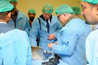 Two of the #UK's leading plastic #surgeons joined AMAR's #medical team in #Iraq to review and plan follow-up treatment for some of the country's most severely injured victims of recent conflict. Dr Graham Smith, a facial reconstruction specialist, and Dr David Gateley, an expert in hand surgery, examined several patients including Shams, a young girl who was terribly injured by a car bomb attack in #Baghdad's #SadrCity a decade ago.