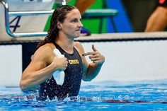 NBC Credits Olympic Swimmer Katinka Hosszu's World Record To Her Husband - http://nifyhealth.com/nbc-credits-olympic-swimmer-katinka-hosszus-world-record-to-her-husband/