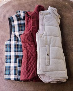 Plaid or white vest or olive green or striped. Do NOT like red vest Plaid Vest, Red Vest, Gray Jacket, Stitch Fix Fall, Stitch Fix Outfits, Stitch Fix Stylist, Fall Winter Outfits, Style Me, Models