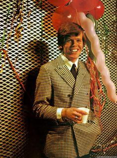 Peter Noone, Herman's Hermits Peter Noone, Herman's Hermits, British Invasion, Double Breasted Suit, Suit Jacket, Suits, Jackets, Fashion, Down Jackets