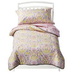 Toddler gift idea: new big girl bedding. Room 365 Mandala 4-piece Toddler Bedding Set ($70)
