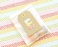 SALLYJSHIM - SALLYJSHIM BLOG - FABRIC LETTER TAGS FOR OH HAPPY DAY