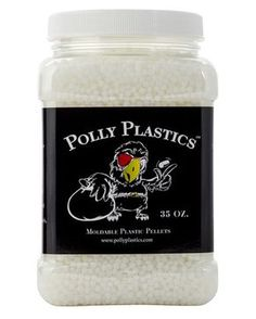 Moldable Plastic that you melt in hot water and then shape however you want it - 35 oz. size