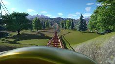 Planet Coaster: The Corkscrews Coaster POV