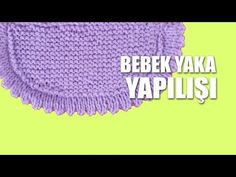 Mahi Karpinar shared a video Knitting For Kids, Crochet For Kids, Baby Knitting, Knitted Baby Clothes, Crochet Clothes, Crochet Hats, Sweater Knitting Patterns, Knitting Stitches, Sue Sunbonnet