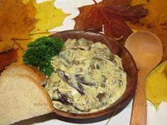 Gotowanie jest łatwe: Dary lasu - opieńki duszone na maśle Kombucha, Camembert Cheese, Dairy, Vegetarian, Dishes, Food, Tablewares, Essen, Meals