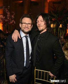 Christian Slater & Normanlicious 4/13/15 #NYC #Blossomball