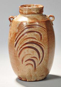 Warren MacKenzie (b. Warren Mackenzie, Pottery Vase, Ceramics, Pots, Vases, Bottles, Auction, Inspire, Number
