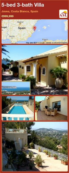 5-bed 3-bath Villa in Javea, Costa Blanca, Spain ►€999,999 #PropertyForSaleInSpain