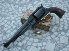 Caveat: Without getting too deep into legalities, converting a percussion revolver into a cartridge firing breechloader is legal in my juris...