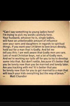 Christian girls & dating.