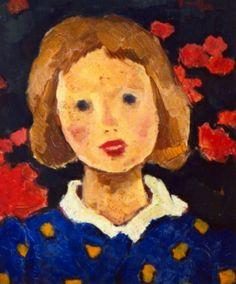 Nicolae Tonitza-Portret de fetita
