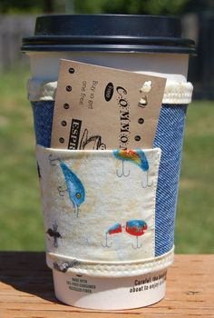 Denim Coffee Sleeve