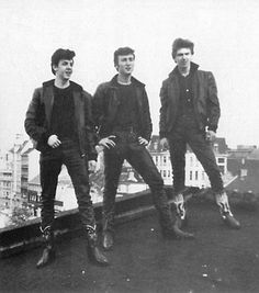 Paul,John,George -  1961 THANK YOU ASTRID!! or there would have been no beatles !   ~*Photo by Astrid Kirchherr