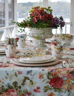 Mikasa Sunset Valley Dinnerware | homeiswheretheboatis.net #tablescape #spring