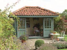 Create a garden haven in Cuprinol Garden Shades Wild Thyme