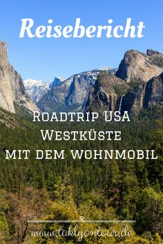 www.taklyontour.de Ein ausführlicher Reisebericht von unserem Campingtrip entlang der Westküste der USA. Vier Wochen waren wir mit einem Wohnmobil unterwegs und haben wundervolle Nationalparks und Städte erkundet. | Roadtrip Ideen auf deutsch