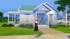 The Sims 4 Starter house for a family. Download here: http://www.thesims.com/en_GB/gallery/D1E1F9AA339B11E5824ED96F4F9AE966