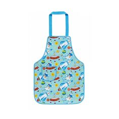 This Space Coated Cotton Apron - Kids by Ulster Weavers is perfect! Pvc Apron, Childrens Aprons, Pvc Coat, Baking Accessories, Child And Child, Candy Making, Kids Online, Cooking With Kids, Soft Fabrics