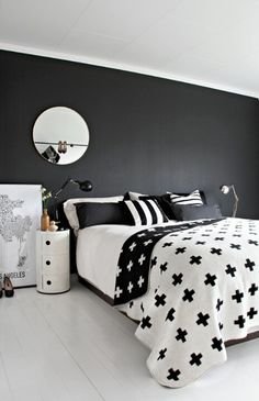 I find black and white to be a perfect color combination for the bedroom. Sure, it may not offer the room the warm glow that others colors such as beige, brown or the natural color of the wood do but the simplicity of the combination creates a classic, timeless and peaceful look, which is exactly …